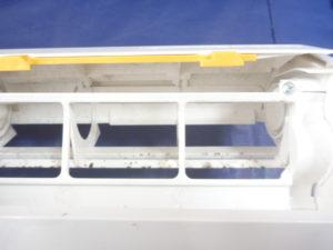 東京都大田区、AS-R22Dお掃除機能付きエアコンお掃除ユニットの汚れ(カビ・ホコリ)