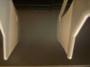東京都墨田区菊川、ダイキン2011年製F28MTES送風口ひび割れ